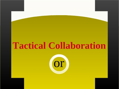 tactical collaborations  2011 mla version