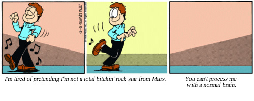 Rock Star from Mars