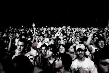 Radiohead Crowd