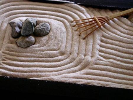 A Miniature Zen Garden