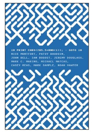 Cover to 10 PRINT (MIT Press, 2012)